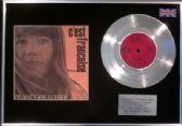 "FRANCOISE HARDY  - 7"" EP  Platinum Disc  and Cover - C'EST FRANCOISE"